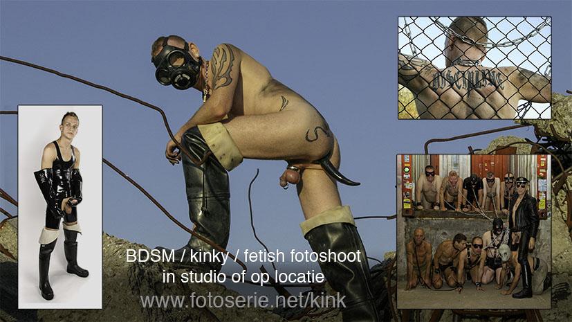 Fotoserie gay bdsm kinky fetish fotografie Amsterdam